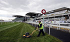 Aintree ground staff prepare for Grand National