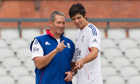 Graham Gooch and Alastair Cook