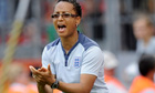 Hope Powell was in charge of the England women's football team for 15 years before being sacked