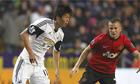 South Korean midfielder Ki Sung-yueng, left, found himself surplus to reuqirements at Swansea City