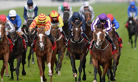 Leading Light and Joseph O'Brien win the Ladbrokes St Leger Stakes at Doncaster