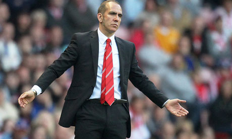 Sunderland sack Paolo Di Canio after training-ground row with players