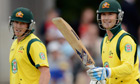 Michael Clarke and George Bailey