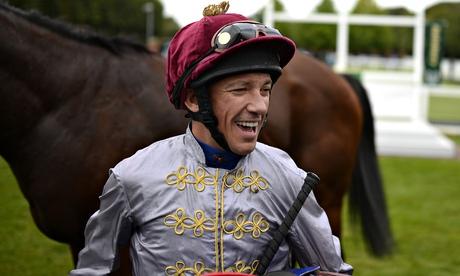 Frankie Dettori rides Ruler Of The World in Prix de lArc de Triomphe
