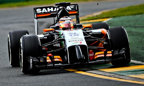 Nico Hülkenberg retained by Force India for 2015 F1 season