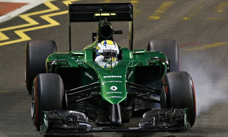 Caterhams F1 future appears more secure after talks with administrators