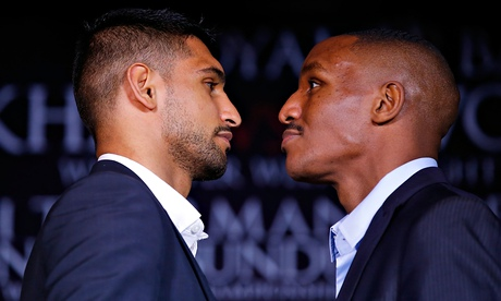 Amir Khan one win from Mayweather or Pacquiao fight, claims De La Hoya
