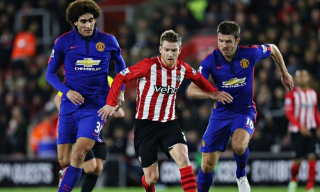 Manchester United's makeshift defence survives Southampton whirlwind | James Riach
