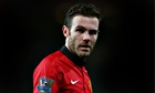 Juan Mata left out of Spain's squad in World Cup year