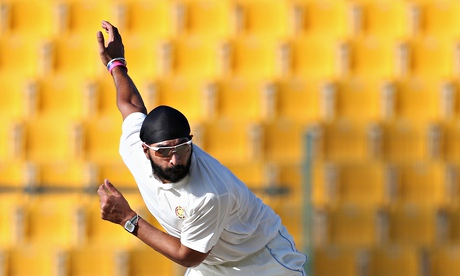 Monty Panesar took five for 63 for the MCC in the day-night game against Durham in Abu Dhabi