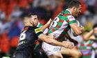 Sam Burgess's mother weighs in after son 'hit with a stick' at Penrith