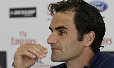 Roger Federer plays his first game in Rome against Jérémy Chardy, who took a set off him the only ti