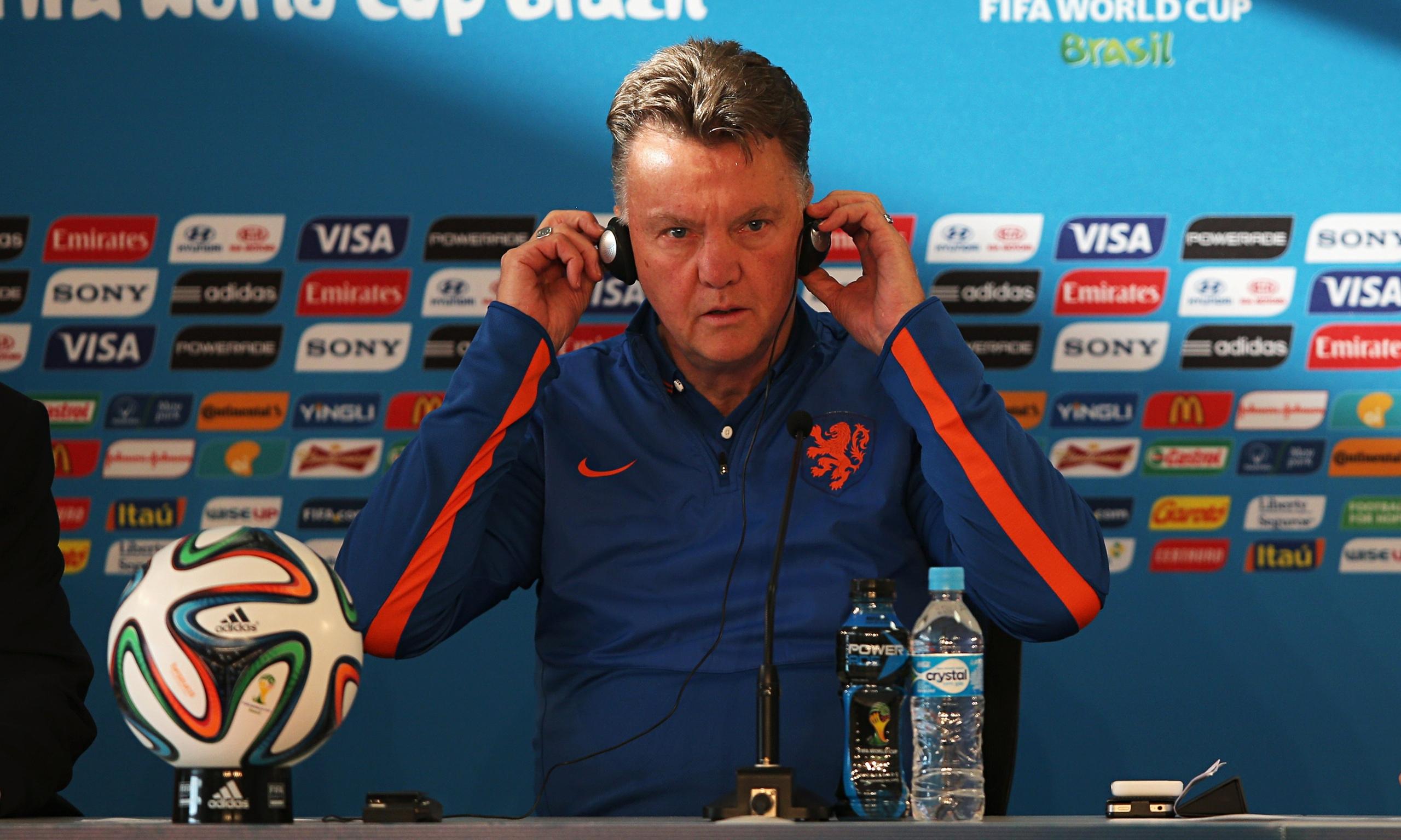 Louis van Gaal claims he will K Hollan Van Z Kaia Real