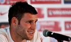 England's James Milner is wearily accsutomed to the allegation that he is the safe choice.