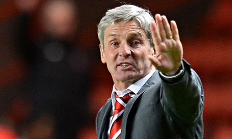 José Riga's efforts at Charlton Athletic have encouraged Blackpool to try to entice him to Bloomfiel