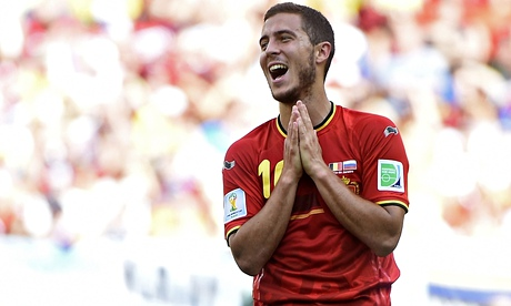 Belgium's Eden Hazard believes a third win on the trot in Group H could begin to inspire fear in fut