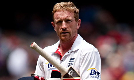 Paul Collingwood refused to withdraw an appeal when captaining England against New Zealand