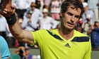 Andy Murray was understandably disappointed after being crushed by Rafael Nadal at the French Open