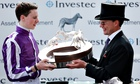 Aidan O'Brien Investec Derby Day