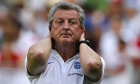 England's Roy Hodgson would not have appreciated the break caused by lightning, which scuppered his