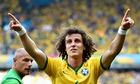 Brazil's David Luiz has exuded a rare sense of calm in what has prvoed to be an emotional and highly
