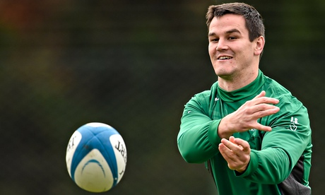 Ireland's Jonathan Sexton broke his jaw while playing for Racing Métro against Toulon