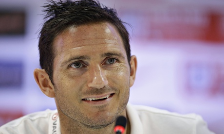 Frank Lampard named in Manchester Citys Champions League squad
