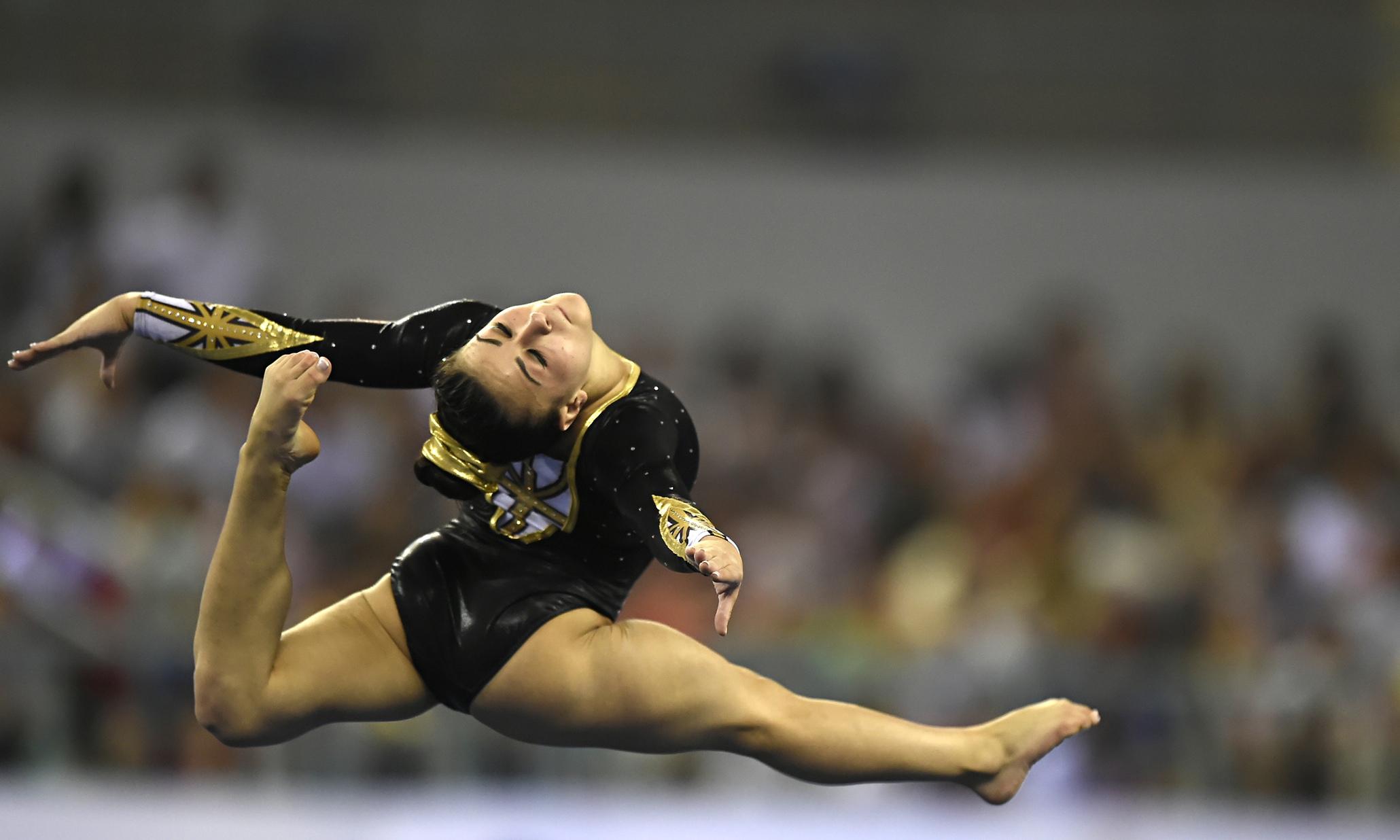 Claudia Fragapane Hopes To Floor Rival Gymnasts At British Championships Sport The Guardian