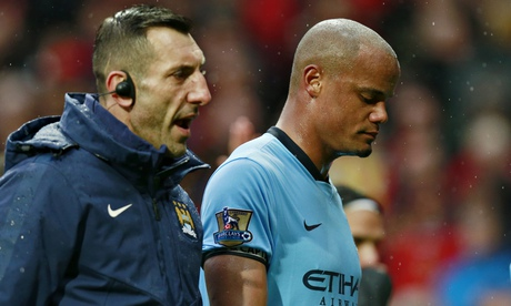 Vincent Kompany could miss rest of Manchester City's season