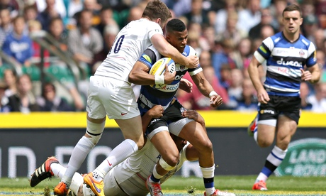 Saracens' Farrell given post-match yellow card for tackle on Bath's Watson