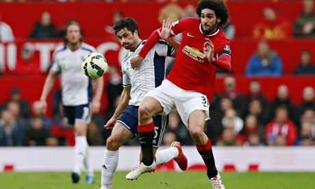 Marouane Fellaini cried after Manchester United sacked David Moyes