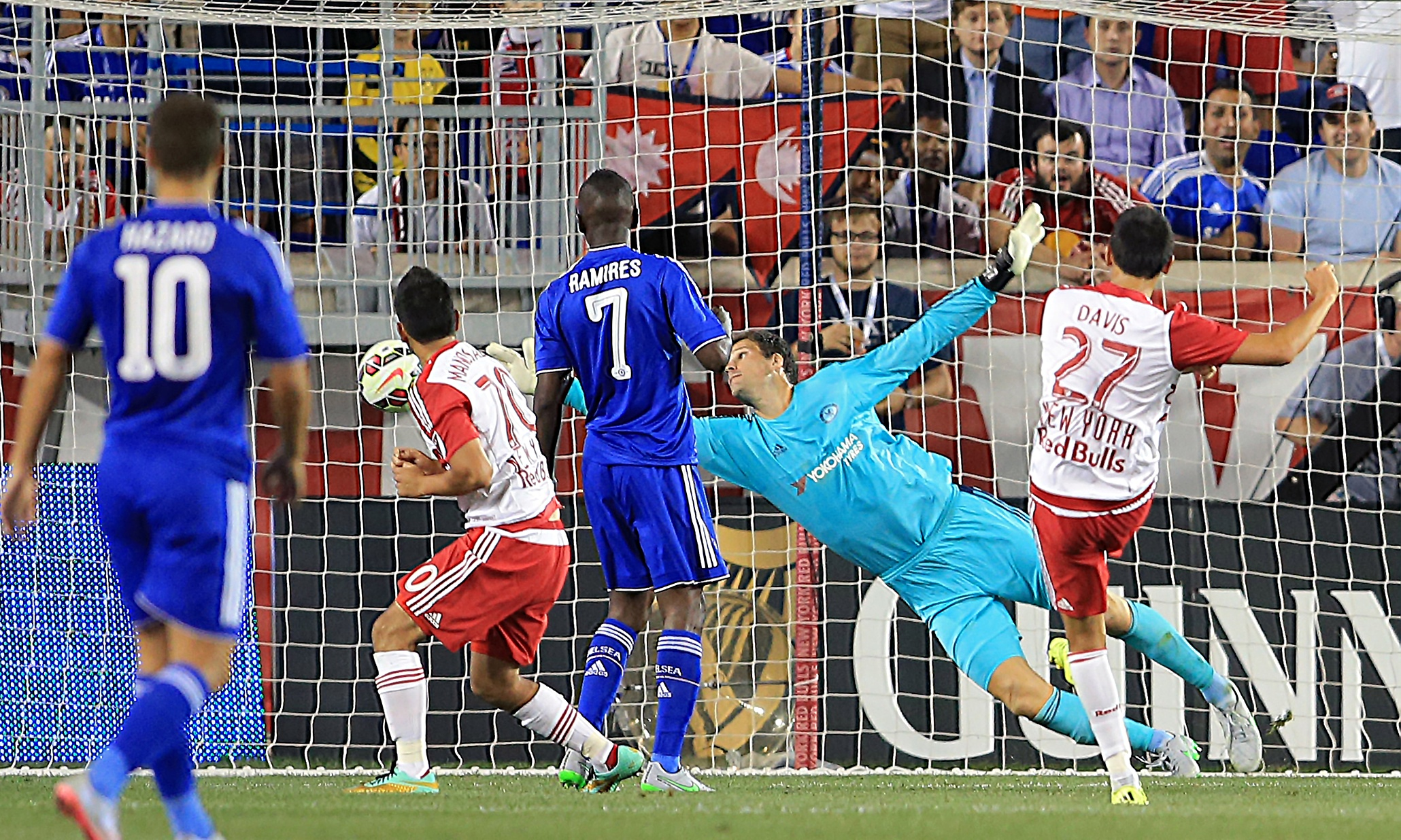 Chelsea concede four second-half goals in defeat to New York Red Bulls