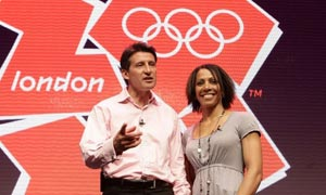London 2012 Olympics logo launch