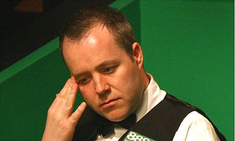 Джона Хиггинса в первой игре турнира Мастерс поначалу одолели неудачи