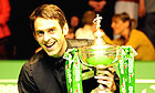 Ronnie O'Sullivan wins third trophy