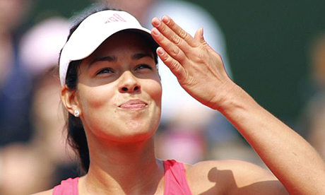 Ana Ivanovic is through to the semifinals of the French Open