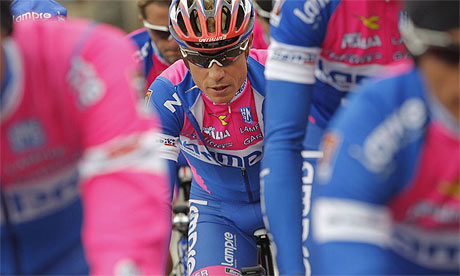 Damiano Cunego in the Tour de France