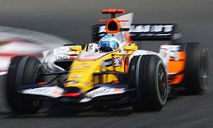 Renault's Fernando Alonso, British Grand Prix, Silverstone