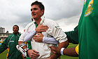 Graeme Smith with South Africa team