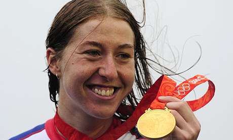Olympics Beijing 2008: Cycling- I almost quit, reveals gold medallist Nicole Cooke | Sport | The Guardian - NicoleCookeEmpics