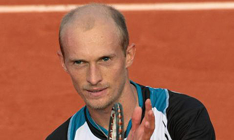 Tennis: Nikolay Davydenko cleared of match fixing allegations | Sport | The Guardian - NikolayDavydenkoAFPJacquesDemarthon