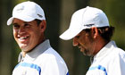 Lee Westwood and Sergio Garcia