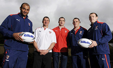 Mark Calderwood, Tony Smith, Jamie Peacock, Rob Purdham and Mickey Higham