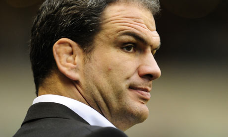 England rugby union manager Martin Johnson