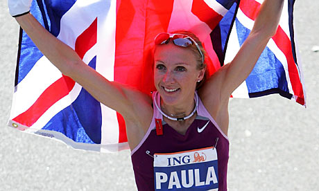 Athletics: Paula Radcliffe to race Constantina Dita in 2009 London ...