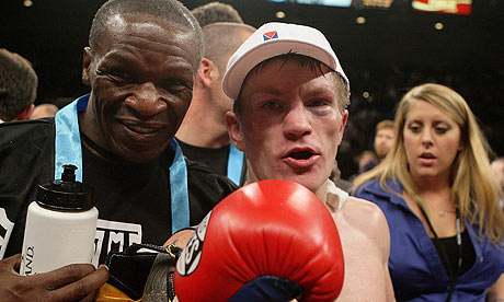 Ricky Hatton and Floyd Mayweather Snr