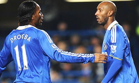 didier drogba fotos. Didier Drogba and Nicolas