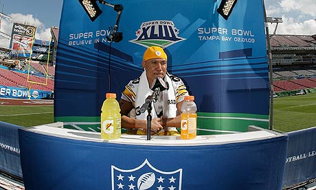 Hines Ward Super Bowl. Wide receiver Hines Ward of