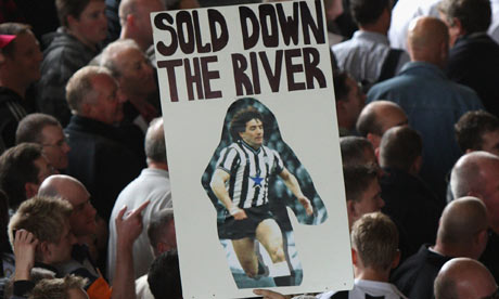 Welcome to Mike Ashley's Newcastle United: a club where senseless transfers can be conducted as a favour to South American agents; where directors tell a baffled manager to look up his new signing on YouTube   George Caulkin