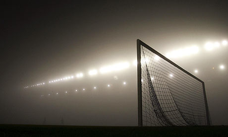 Football and fog